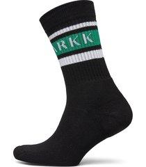 the high sock - striped black soft underwear socks regular socks svart arkk copenhagen