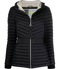 moose knuckles vanilla sky padded jacket - black