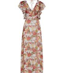 maxiklänning onqcorrie s/l ruffle maxi dress