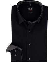 level 5 olymp overhemd zwart