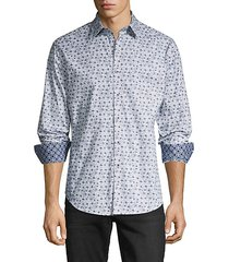 classic-fit floral shirt