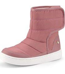botas urban boots piel de peluche rosa bibi