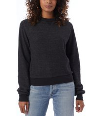 women's eco-teddy fleece sweatshirt