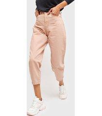 jeans vero moda rosa - calce holgado