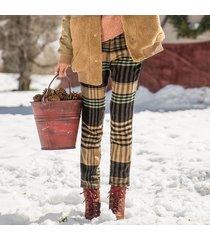 skinny wool crop pants