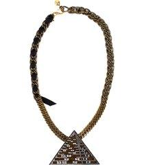 luxor pyramid necklace