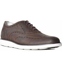 zapato marrón briganti anatomic hombre floy