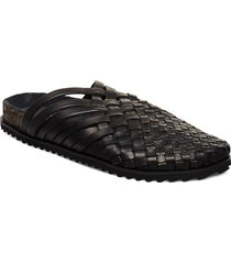stb-pablo l shoes summer shoes sandals svart shoe the bear