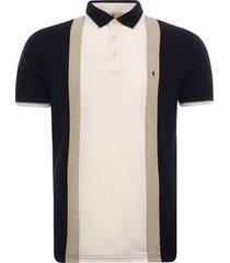 gabicci vintage 1973 glover polo shirt | black | v46gx01-blk
