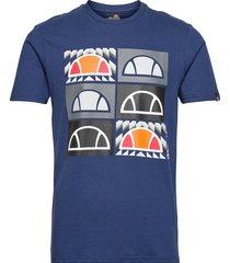 el romal tee t-shirts short-sleeved blå ellesse