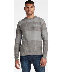 g-star d20410 b155 charly knit trui c702 charcoal -
