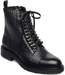 boots shoes boots ankle boots ankle boot - flat svart billi bi