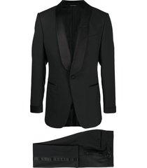 tom ford plain weave evening suit