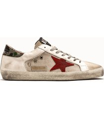 golden goose deluxe brand sneakers superstar colore bianco