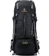 mochila/ bolsa mountaineer viaje impermeable al aire-negro