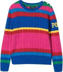 ralph lauren multicolored sweater