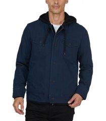 hurley men's highway trucker lightweight jacket