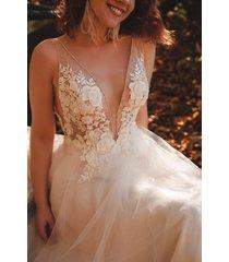 suknia ślubna z efektem glitter // gabriela