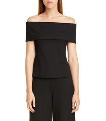 women's rosetta getty off the shoulder interlock jersey top