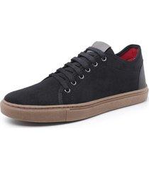 sapatenis sandalo levit preto - preto - masculino - dafiti