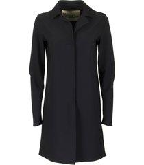 herno coat black