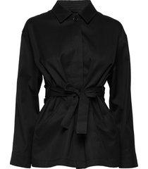seine jacket zomerjas dunne jas zwart filippa k