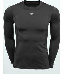 camiseta depotiva lycrada jogo cs2720891 - negro