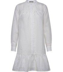 santonia chicka shirt dress kort klänning vit bruuns bazaar