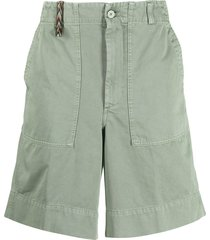 missoni poplin shorts - green