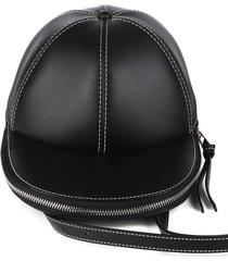 jw anderson black cap bag