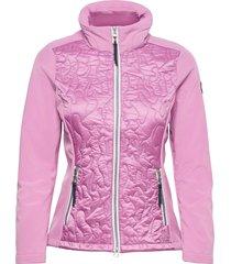 classic quilt light jacket kviltad jacka rosa sebago