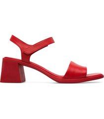 camper karolina, sandalias mujer, rojo , talla 41 (eu), k200101-013