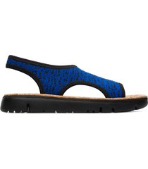 camper oruga, sandali donna, nero/blu, misura 42 (eu), k200360-005