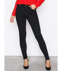 dr denim lexy black slim svart
