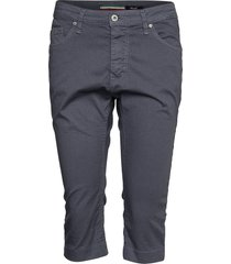 capri cotton trousers capri trousers blå please jeans