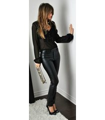 women leather pant genuine lambskin real leather trouser lower bottoms pant-gd42