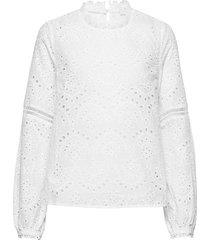 tilinecr blouse blouse lange mouwen wit cream