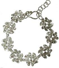 bransoletka z wianuszków srebrna