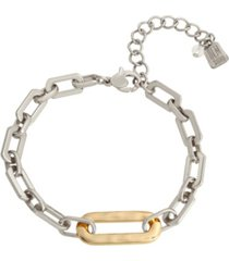 robert lee morris soho geometric link bracelet