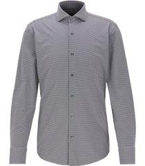 boss men's jason slim-fit checked shirt