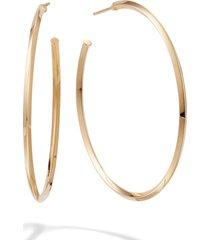women's lana jewelry pointed royale hoop earrings