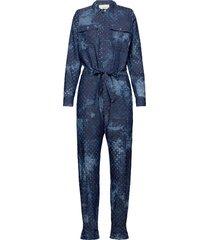 lanny jumpsuit blå munthe