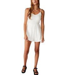 cotton on woven penelope strappy playsuit