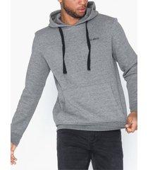 only & sons onsbrian hoodie sweat tröjor grå