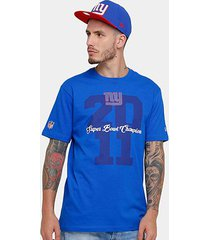 camiseta new era nfl new york giants piquet masculina
