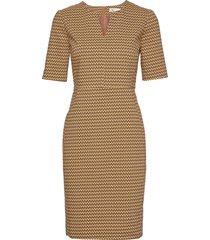 zella dress knälång klänning brun inwear