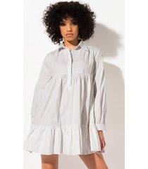 akira left behind long sleeve flowy mini dress