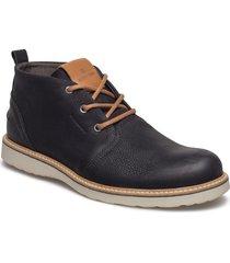 milko 02 mid m desert boots snörskor svart björn borg