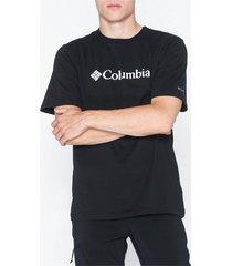 columbia basic logo tee t-shirts & linnen black