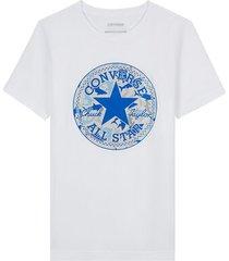 shark chuck taylor patch t-shirt